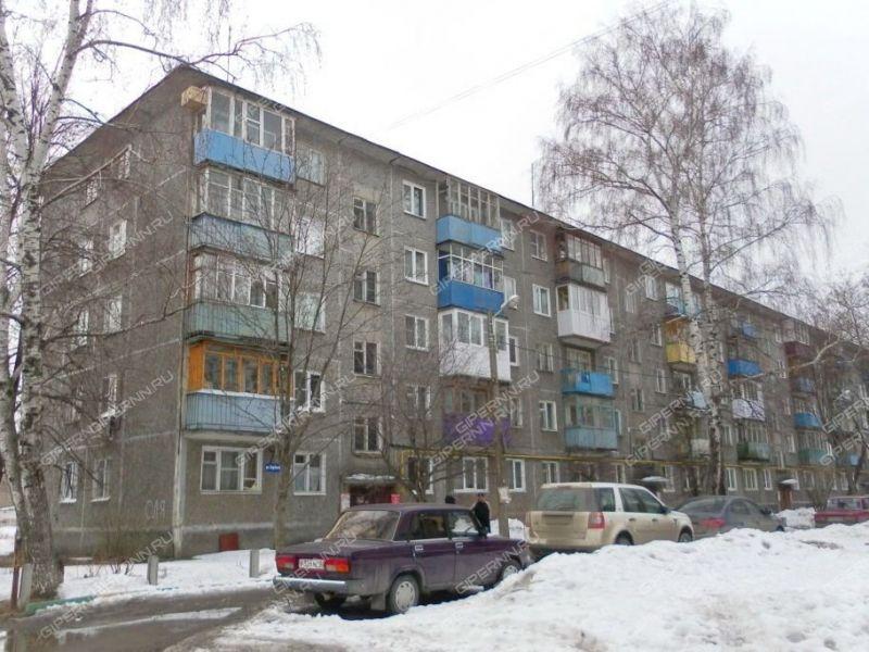 двухкомнатная квартира на улице Берёзовская дом 70