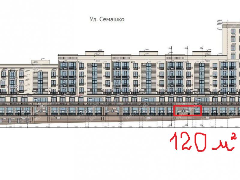 помещение под офис, торговую площадь на площади Свободы