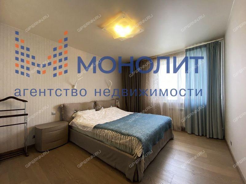 двухкомнатная квартира на улице Верхне-Печёрская дом 13 к1