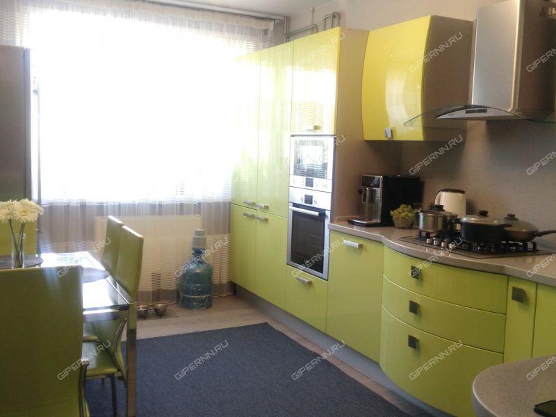 трёхкомнатная квартира на улице Белякова дом 24 город Выкса
