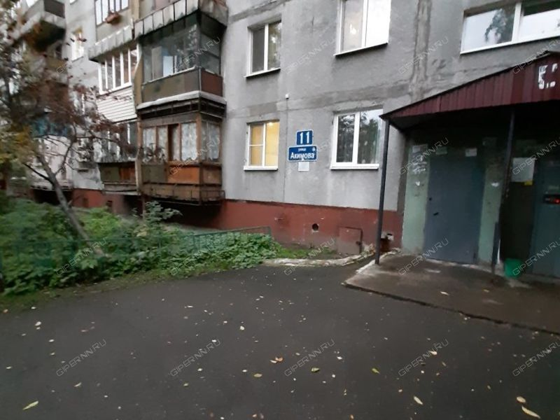 трёхкомнатная квартира на улице Сергея Акимова дом 11