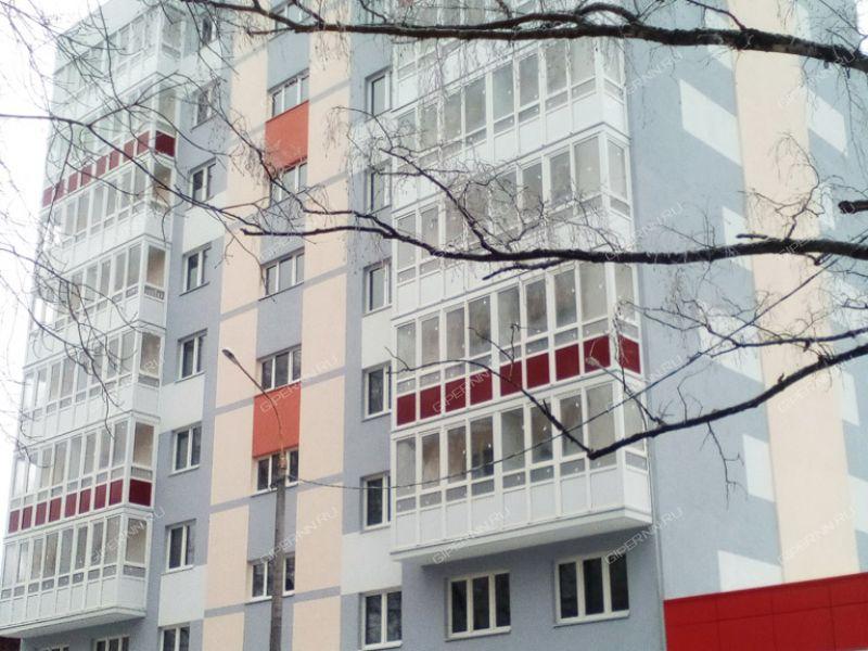 однокомнатная квартира на улице Краснозвёздная дом 7